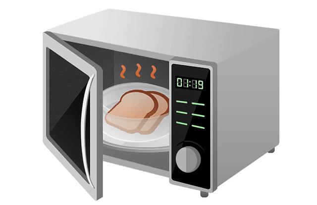 aliments au micro-ondes