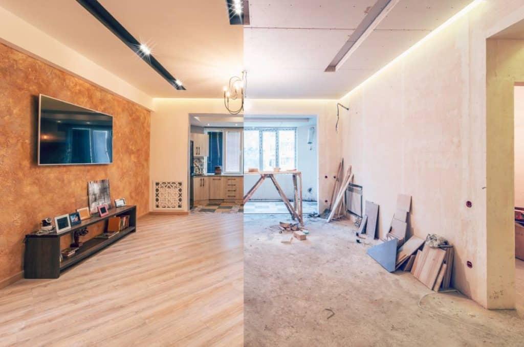 rénovation de maison, d'appartement